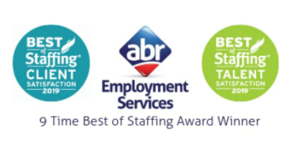 ABR Employment Services - 9 Time Best of Staffing Award Winner